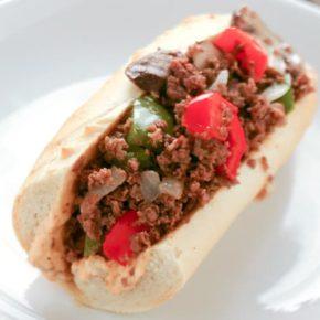 Steak Sandwich with Spicy Mayonnaise