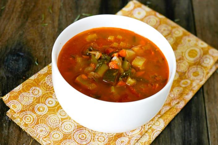 Eclectic Recipes Garden Basil Pesto Soup Eclectic Recipes