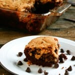 Chocolate Chip Cookie Brownies @EclecticEveryday