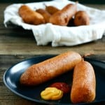Homemade Corn Dogs @EclecticEveryday