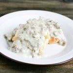 Southern Comfort Food: Biscuits and Gravy @EclecticEveryday
