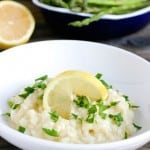 Lemon Risotto @EclecticEveryday