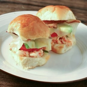 "Lobster ""BLT"" Melts"