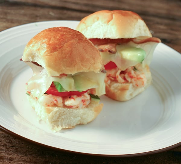 "Lobster ""BLT"" Melts Recipe"