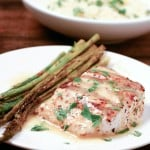 Grilled Mahi Mahi with Lemon Butter Sauce