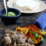 Marinated Pork Fajitas @EclecticEveryday