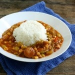 Chicken and Andouille Sausage Gumbo with Vegetables