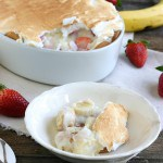 Strawberry Banana Pudding @EclecticEveryday