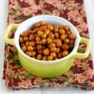 Spicy Roasted Chipotle Chickpeas