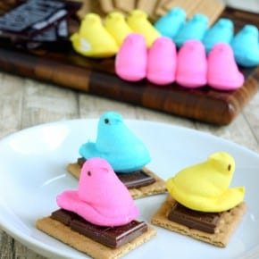 Peeps S'mores for Easter 1