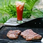 Bloody Mary Grilled Steaks