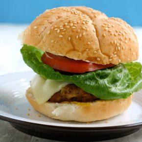 Italian Sausage Turkey Burgers