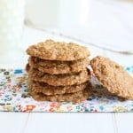Oatmeal Raisin Cookies @EclecticEveryday