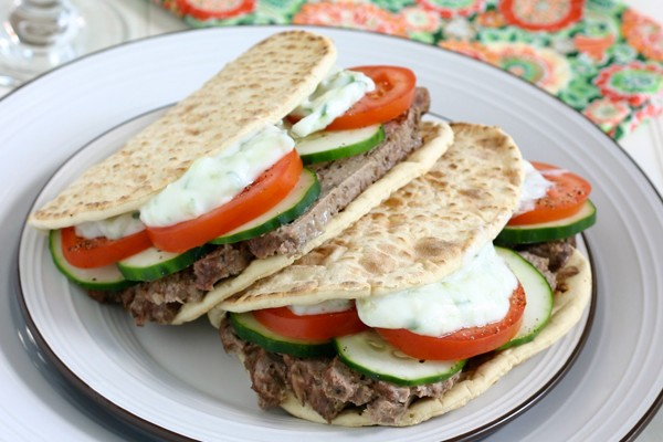 Easy Homemade Gyros Recipe