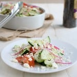 Marinated Cucumber Salad 2