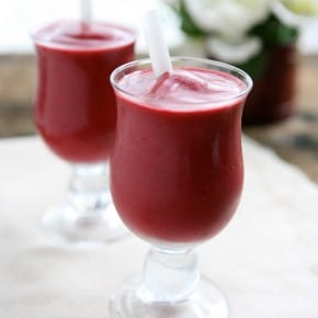 Blackberry Cherry Vanilla Smoothies 3