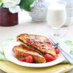Nutella Stuffed French Toast with Maple Strawberry Syrup