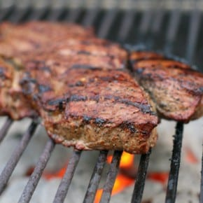 Grilled Bison Sirloin Steak