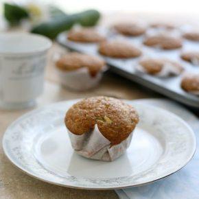 Zucchini Bran Muffins 2