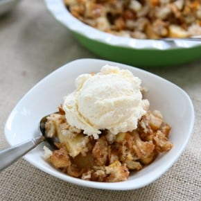 Apple Cinnamon Brown Betty 3