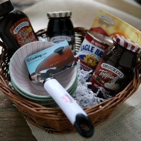 Smucker's Ice Cream Goodie Basket Giveaway
