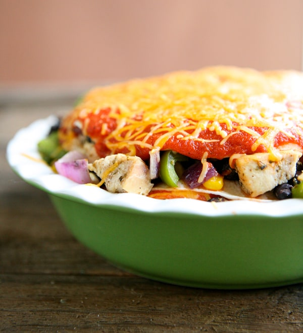 Chicken Enchilada Pie Recipe