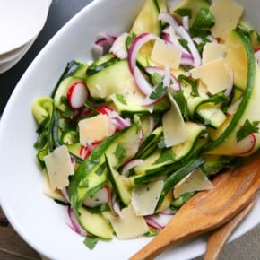 Marinated Zucchini Salad 2