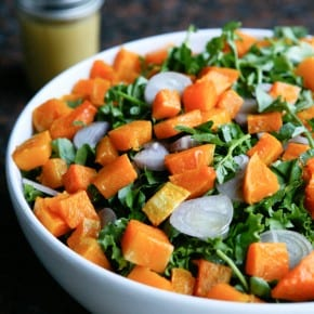 Butternut Sqaush Salad with Escarole