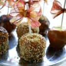 Caramel Apples @EclecticEveryday