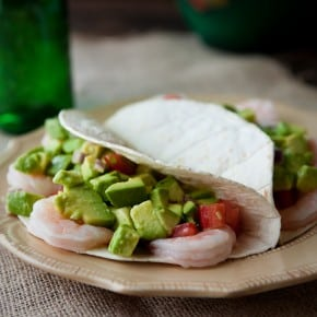 Avocado Shrimp Tacos
