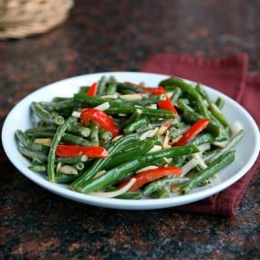 Green Bean Salad Recipe and a $100 Visa Card Giveaway