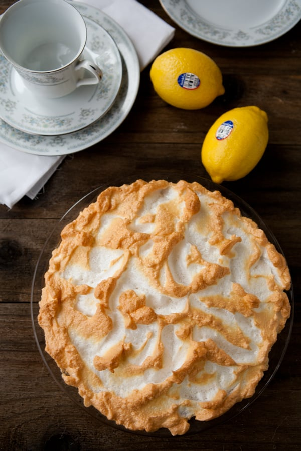 Homemade Lemon Meringue Pie Recipe