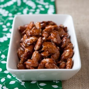 Sweet and Sticky Honey Roasted Almonds