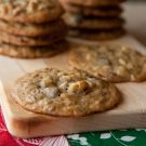 Tropical Chocolate Chip Christmas Cookies @EclecticEveryday