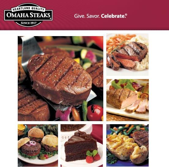 Omaha Steaks Giveaway Recipe