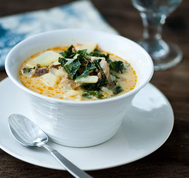Zuppa toscana eclectic recipes for How to make zuppa toscana from olive garden