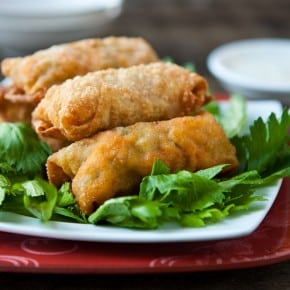 Buffalo Chicken Eggrolls 3