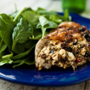 Greek Grilled Stuffed Chicken 3