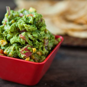 Roasted Corn Guacamole 1