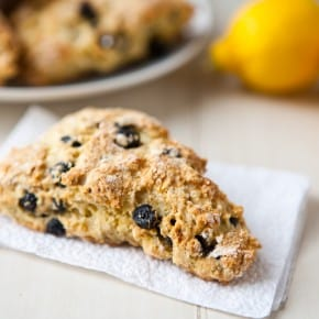 Blueberry Lemon Scones 3