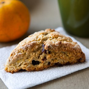 Mixed Berry Tangerine Scones 2