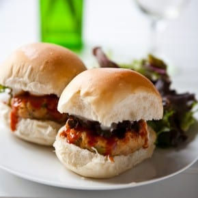 Buffalo Chicken Ranch Sliders 1