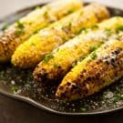 Parmesan Garlic Grilled Corn  2