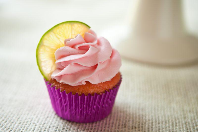 Margarita Cupcakes With White Cake Mix