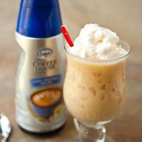 White Chocolate Mocha Iced Coffee with International Delight #IDandMe 2