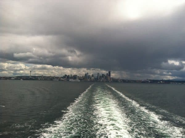 picture from back of ferry