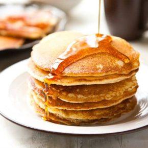 Cornmeal Pancakes 1