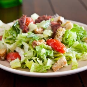 Simple Caesar Salad 1