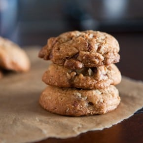 Brown Butter Oatmeal Chocolate Chip Cookies  1