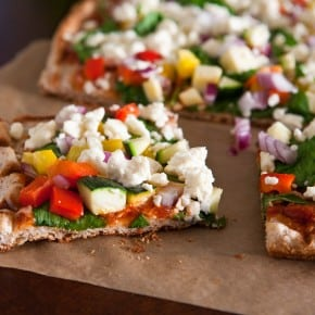 Grilled Greek Pizza 21